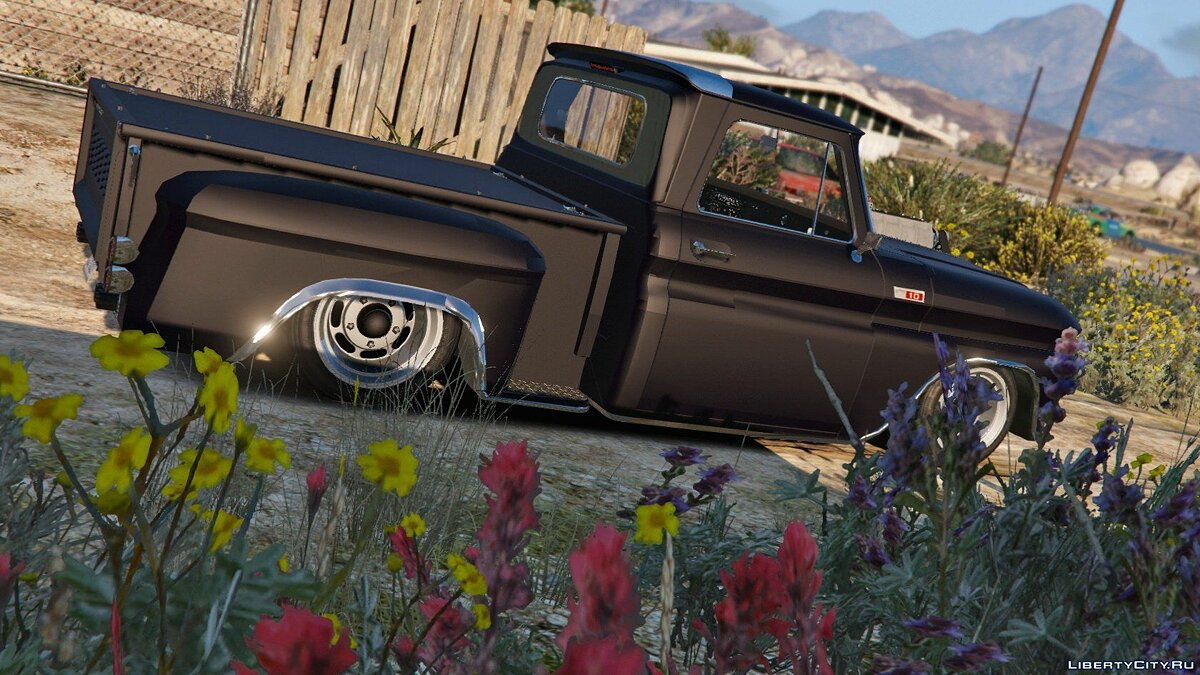 Chevrolet C-10 Stepside Custom [Add-On / Replace | Custom Dirt] 1.2 для GTA 5 - скриншот #3
