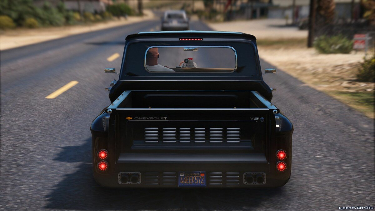 Chevrolet C-10 Stepside Custom [Add-On / Replace | Custom Dirt] 1.2 для GTA 5 - скриншот #8