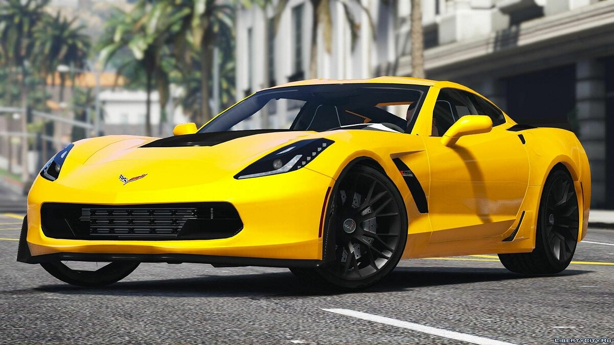 2016 Chevrolet Corvette C7 Z06 [Add-On] для GTA 5