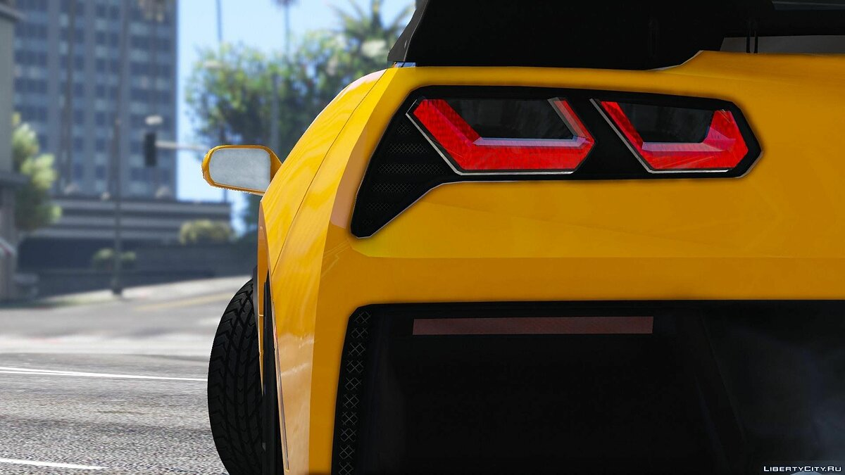 2016 Chevrolet Corvette C7 Z06 [Add-On] для GTA 5 - скриншот #3