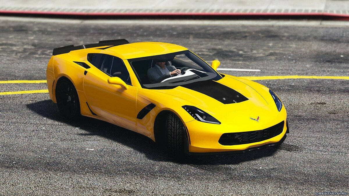 2016 Chevrolet Corvette C7 Z06 [Add-On] для GTA 5 - скриншот #4