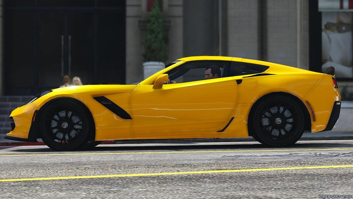 2016 Chevrolet Corvette C7 Z06 [Add-On] для GTA 5 - скриншот #5