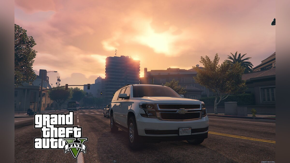 2016 Chevrolet Suburban [Add-On / Replace] 1.0 для GTA 5