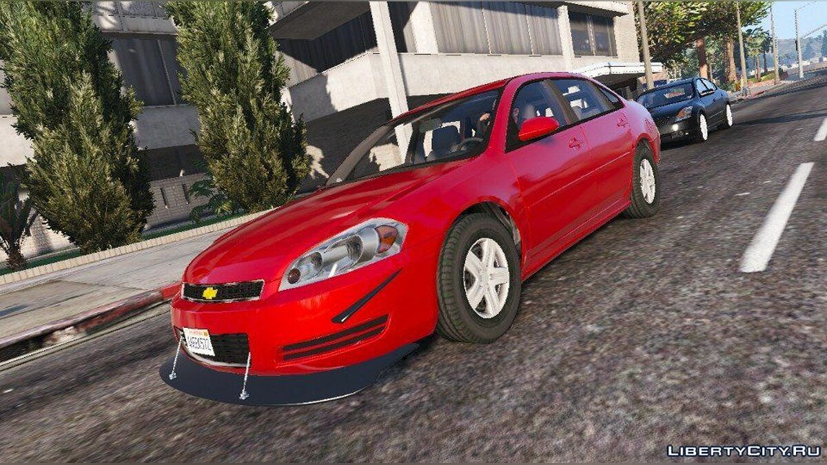 2006 Chevrolet Impala LS [Wipers | Template | Replace] 1.4 для GTA 5 - скриншот #2