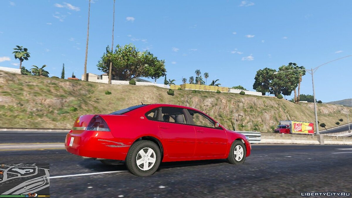 2006 Chevrolet Impala LS [Wipers | Template | Replace] 1.4 для GTA 5 - скриншот #6