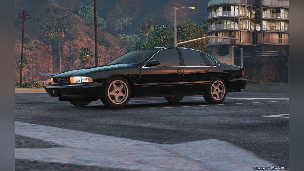 Chevrolet Impala SS '96 [Add-On / Replace | Wipers] 1.3 для GTA 5
