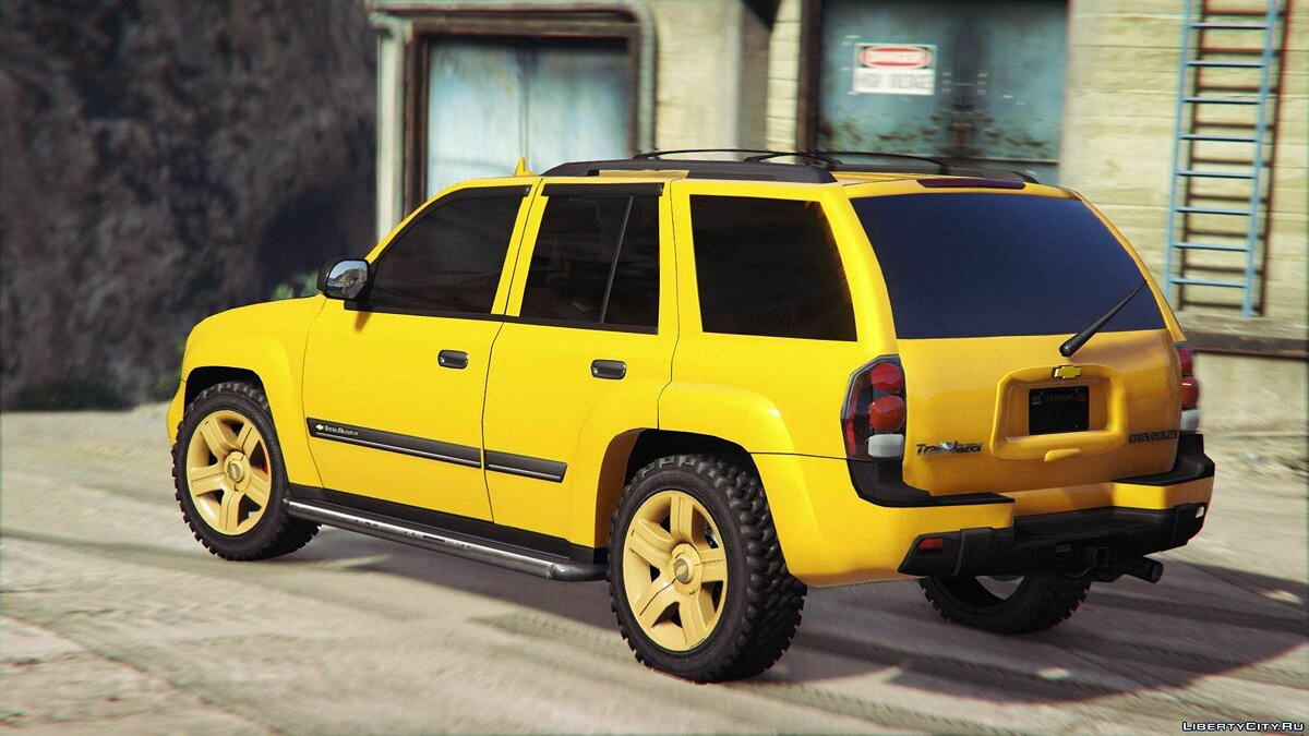 Chevrolet TrailBlazer для GTA 5 - скриншот #3
