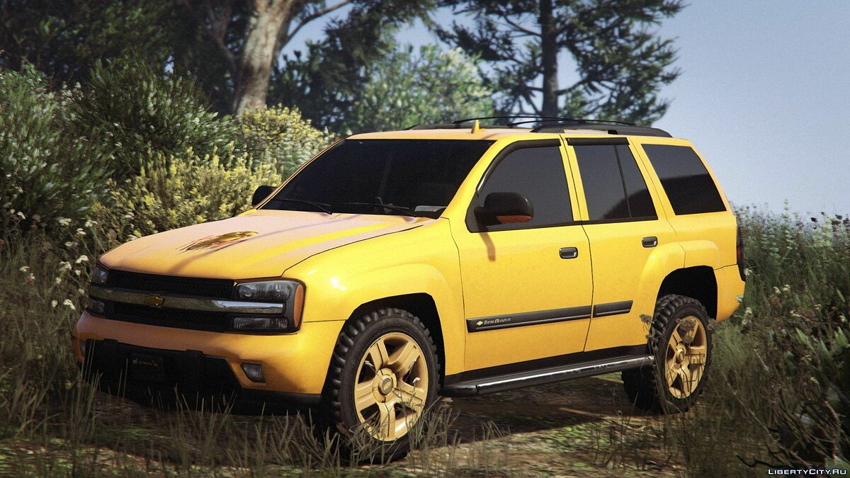 Chevrolet TrailBlazer для GTA 5 - скриншот #2