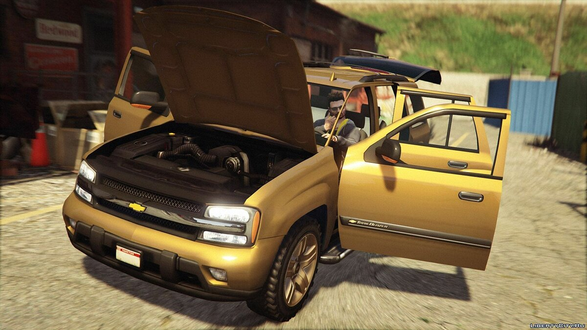 Chevrolet TrailBlazer для GTA 5 - скриншот #6