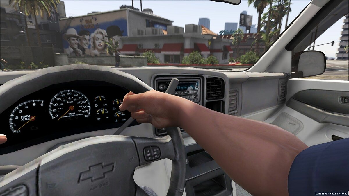 2006 Chevy Silverado Suburban [Replace] 1.0 для GTA 5 - скриншот #5
