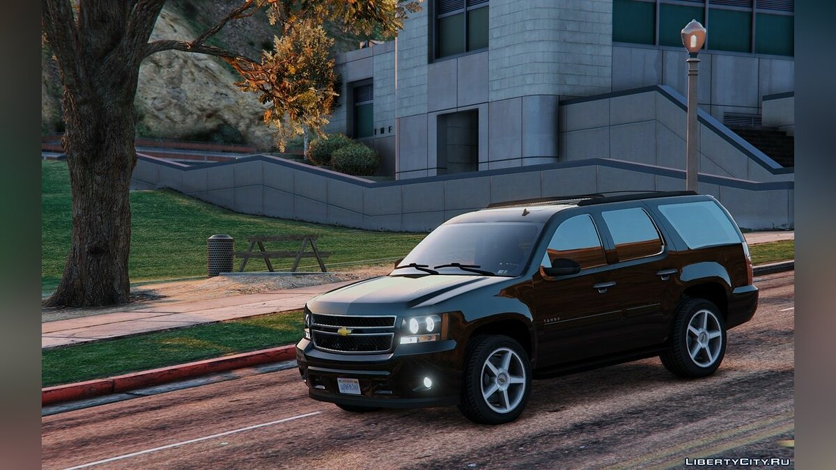 Chevrolet Tahoe [Add-On / Replace] 1.0 для GTA 5