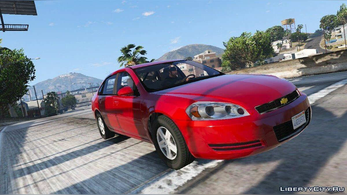 2006 Chevrolet Impala LS [Wipers | Replace] 1.2 для GTA 5