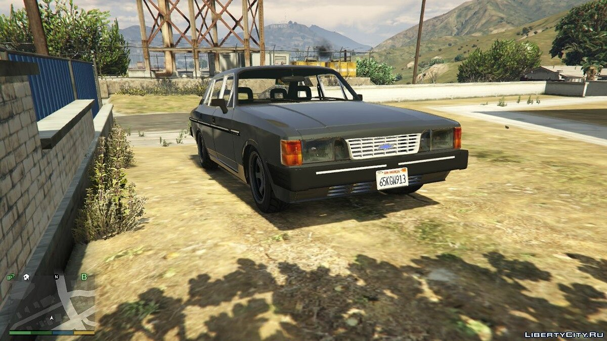 Chevrolet Opala Comodoro 88/89 [Replace] 1.0 для GTA 5 - скриншот #6