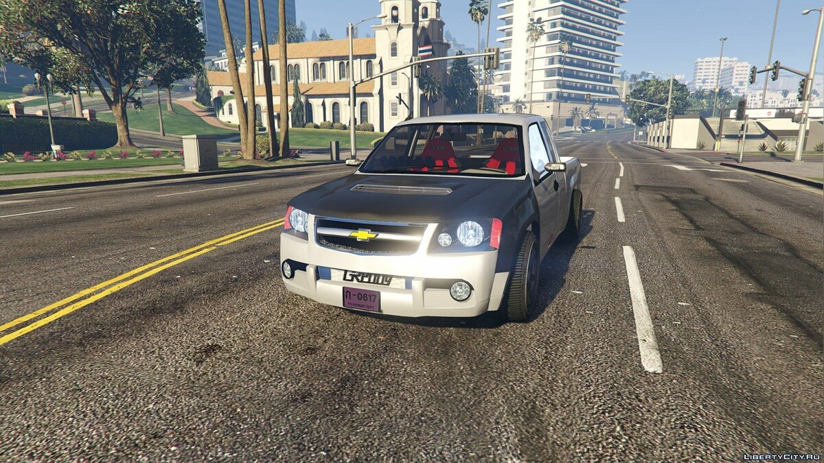 Chevrolet Colorado 2008 Spec Thailand [Add-On / Replace] для GTA 5