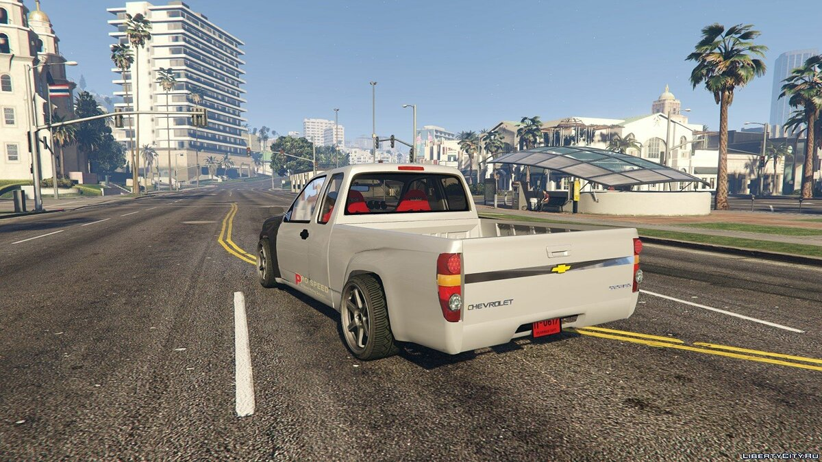 Chevrolet Colorado 2008 Spec Thailand [Add-On / Replace] для GTA 5 - скриншот #4