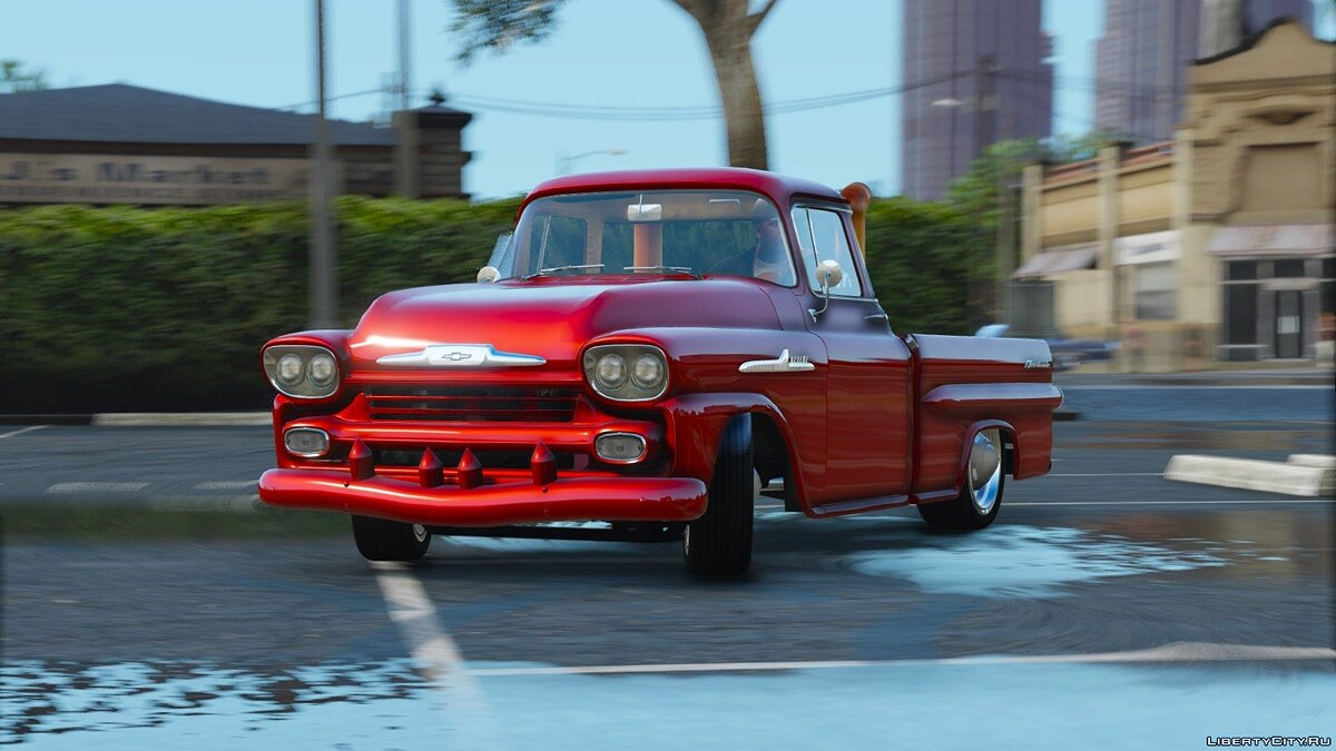 1959 Chevrolet Apache Fleetside 1.6 для GTA 5 - скриншот #2