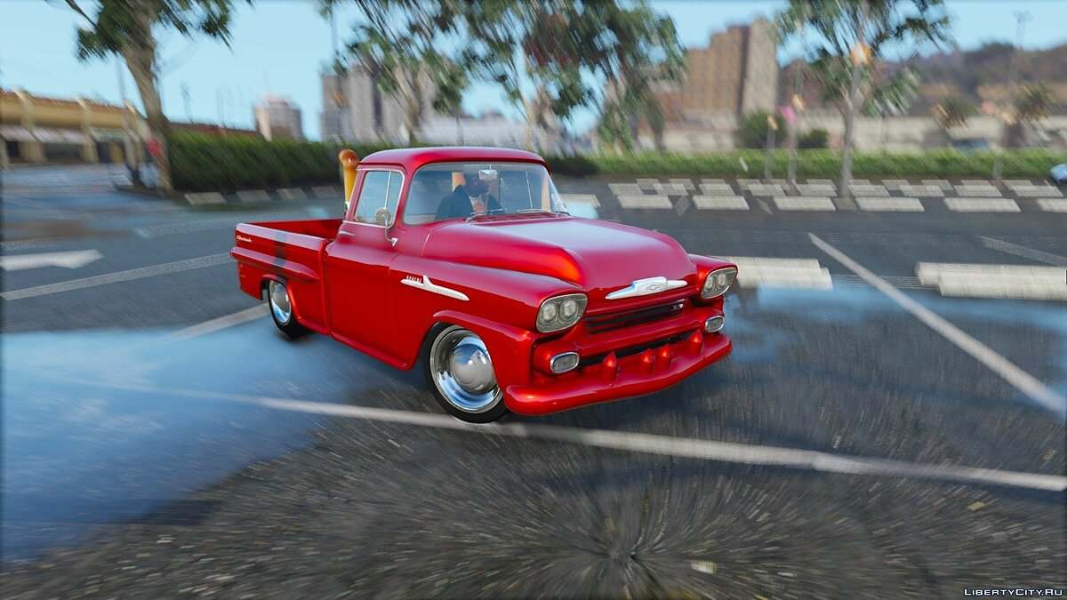 1959 Chevrolet Apache Fleetside 1.6 для GTA 5 - скриншот #4