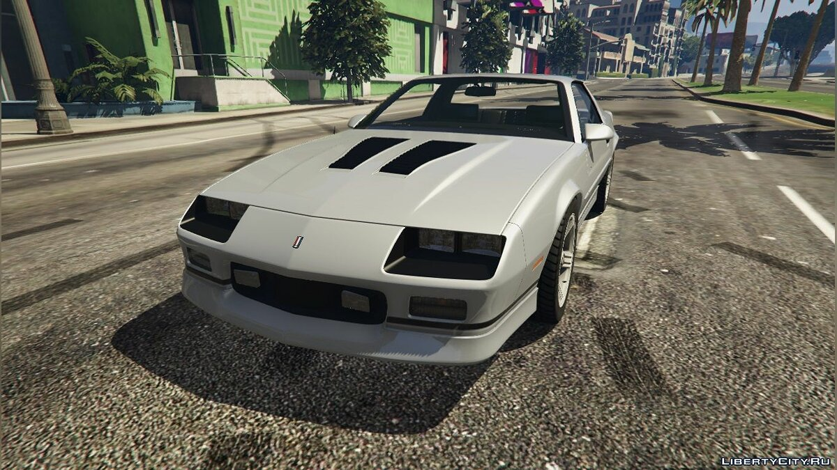 1990 Chevrolet Camaro IROC-Z (Reconverted) [Add-On / Replace] 1.0 для GTA 5