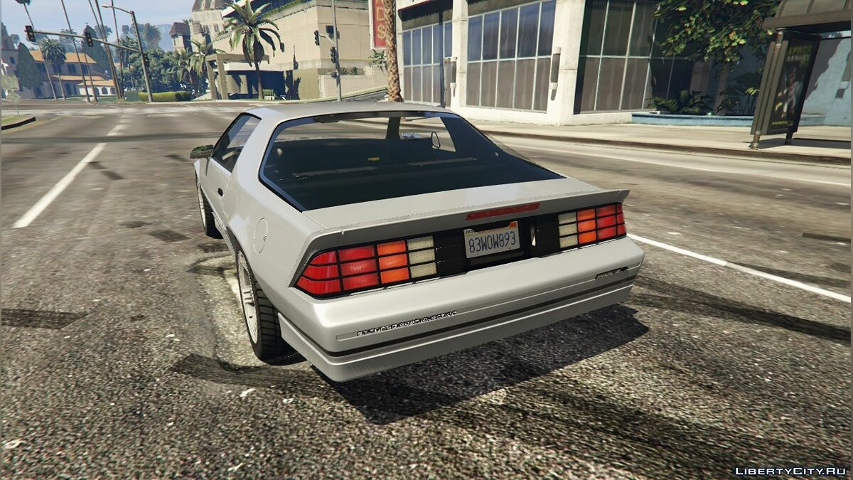 1990 Chevrolet Camaro IROC-Z (Reconverted) [Add-On / Replace] 1.0 для GTA 5 - скриншот #2