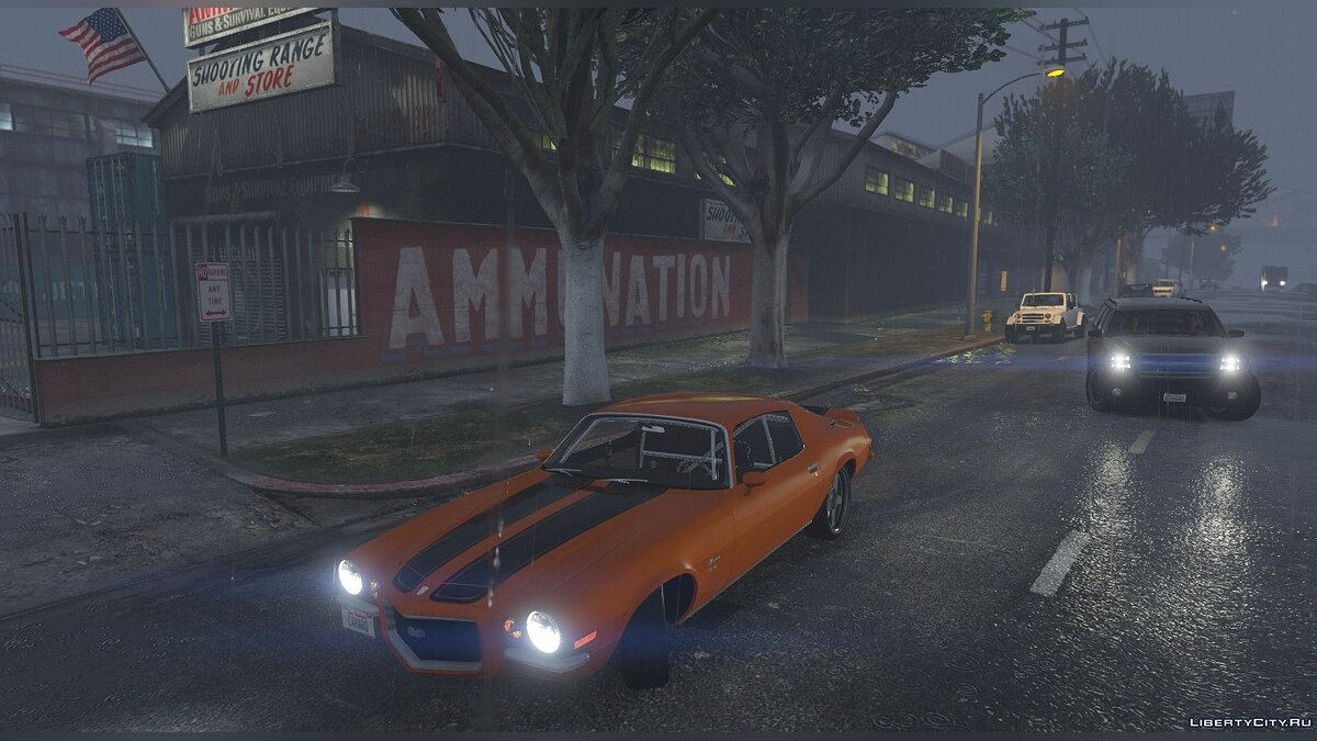 1970 Camaro SS/RS [Super Tunable, LowRider, Add-on] 1.0 для GTA 5