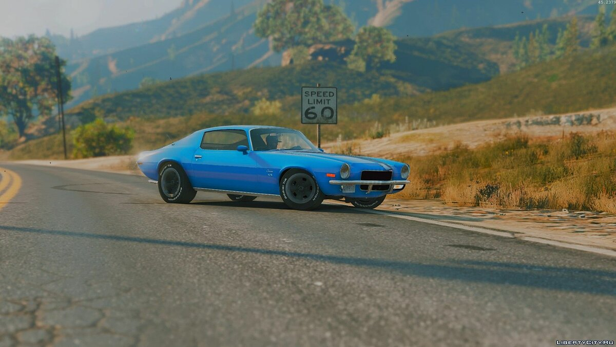 1970 Camaro SS/RS [Super Tunable, LowRider, Add-on] 1.0 для GTA 5 - скриншот #5