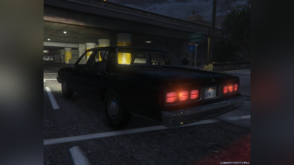 ��ашина Chevrolet 1989 Chevrolet Caprice Sedan [Add-On / Replace] 2.1 для GTA 5