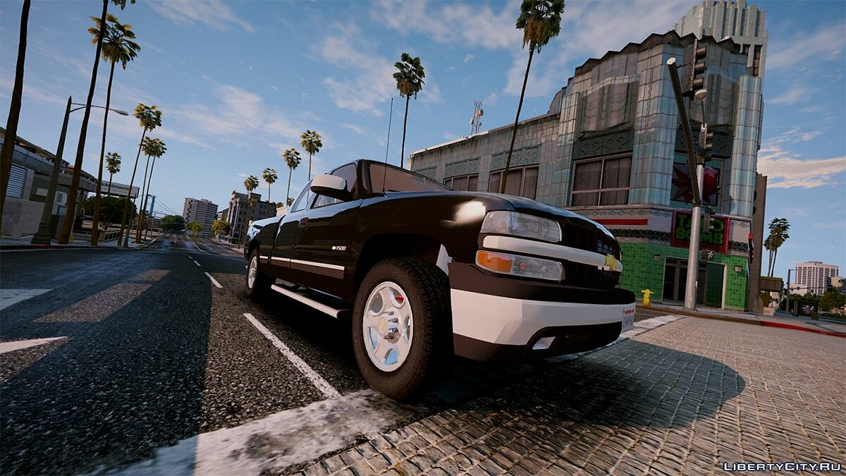 2000 Chevrolet Silverado 1500 [Add-On / Replace] 1.0 для GTA 5 - скриншот #5