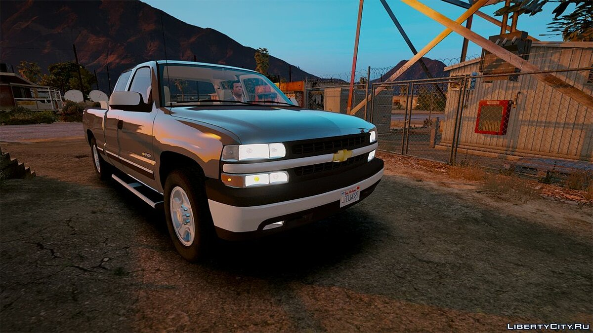 2000 Chevrolet Silverado 1500 [Add-On / Replace] 1.0 для GTA 5