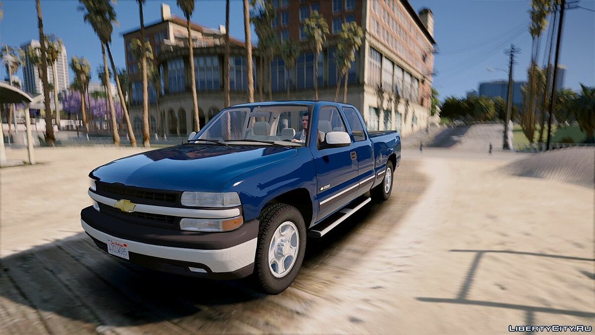 2000 Chevrolet Silverado 1500 [Add-On / Replace] 1.0 для GTA 5 - скриншот #3