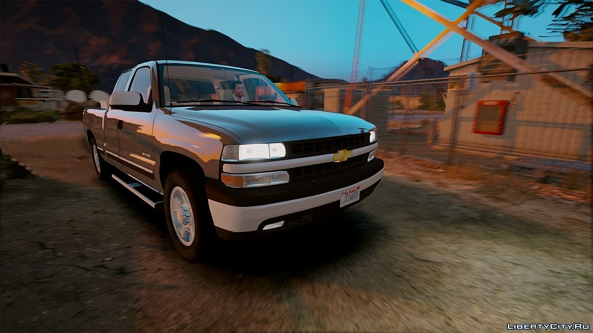 2000 Chevrolet Silverado 1500 [Add-On / Replace] 1.0 для GTA 5 - скриншот #6