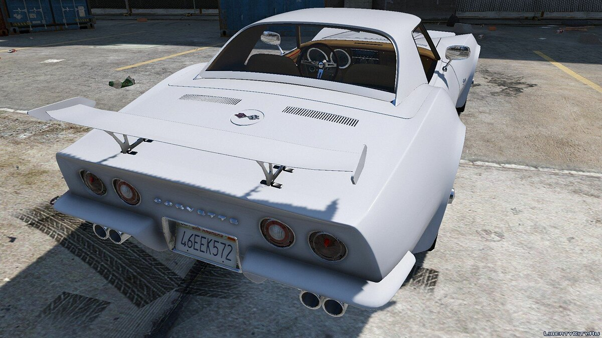 1970 Chevrolet Corvette ZR-1 C3 1.0 для GTA 5 - скриншот #3