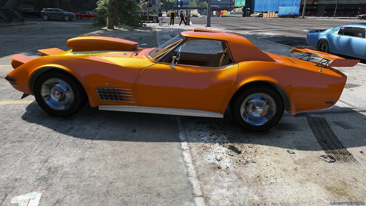 1970 Chevrolet Corvette ZR-1 C3 1.0 для GTA 5 - скриншот #6