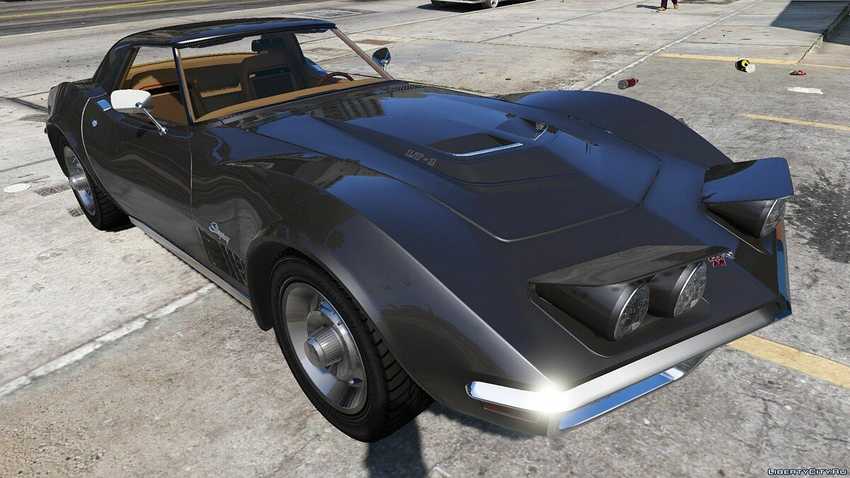 1970 Chevrolet Corvette ZR-1 C3 1.0 для GTA 5 - скриншот #8