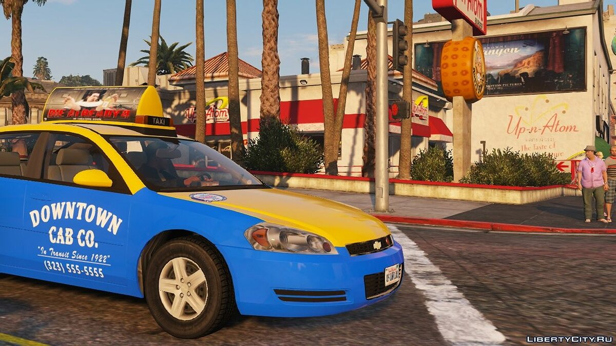 Машина Chevrolet 2006 Chevrolet Impala LS [Wipers | Template | Replace] 2.0 для GTA 5