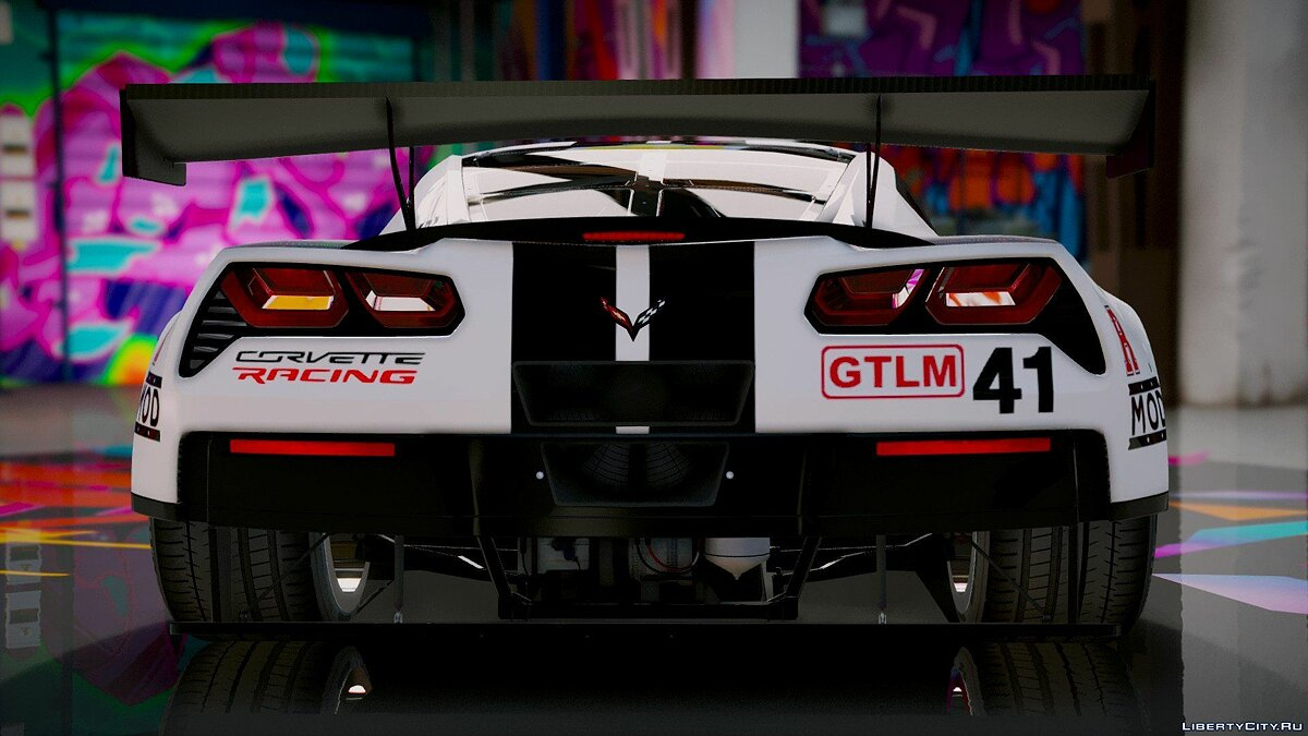Chevrolet Corvette C7R GTLM [Add-On] 1.4 для GTA 5 - скриншот #9