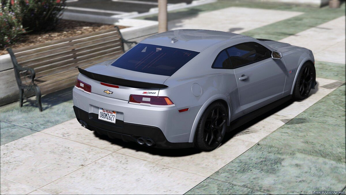 2015 Chevrolet Camaro Z/28 [Add-On | Template] 2.0 для GTA 5 - скриншот #3