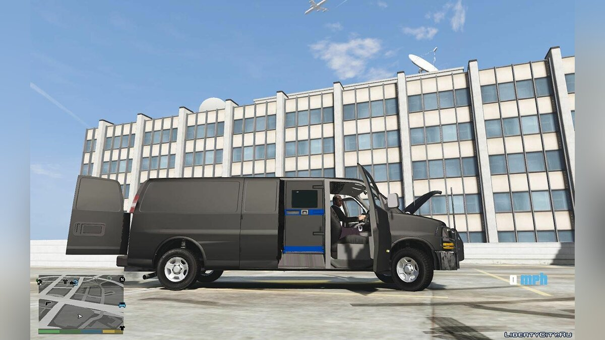 2016 Chevrolet Express Armored CIT [ADD ON] [TEMPLATE] 1.0 для GTA 5