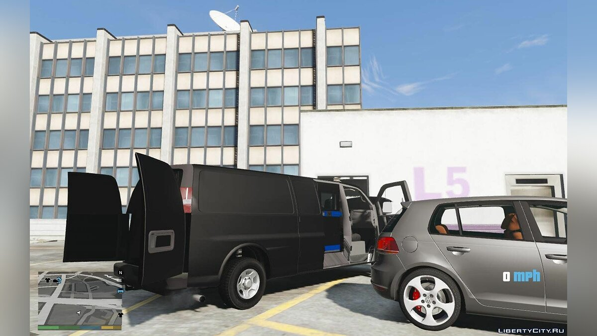 2016 Chevrolet Express Armored CIT [ADD ON] [TEMPLATE] 1.0 для GTA 5 - скриншот #2