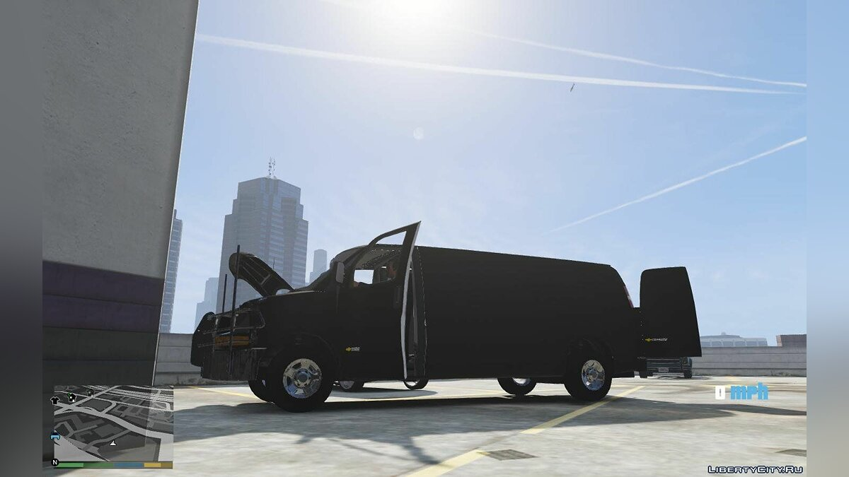 2016 Chevrolet Express Armored CIT [ADD ON] [TEMPLATE] 1.0 для GTA 5 - скриншот #3