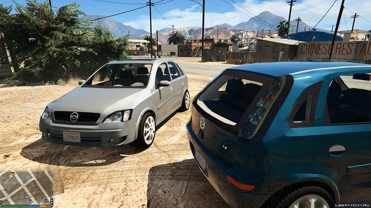 Chevrolet Corsa Hatch 2012 для GTA 5 - скриншот #3
