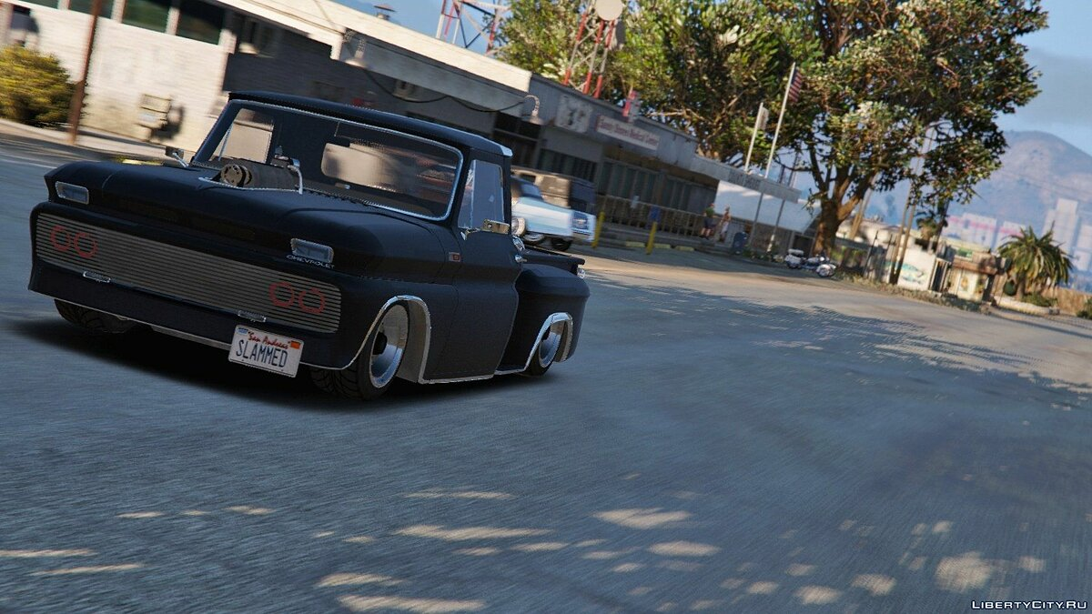 Chevrolet C-10 Stepside [Tuned] 1.0 для GTA 5 - скриншот #3