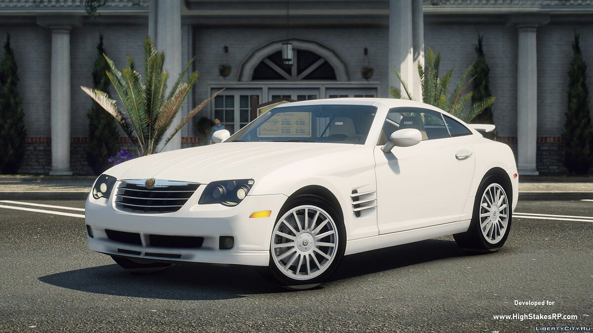 Машина Chrysler Chrysler Crossfire SRT-6 2005 [Add-On | Lods | Tuning | Template] 1.0 для GTA 5