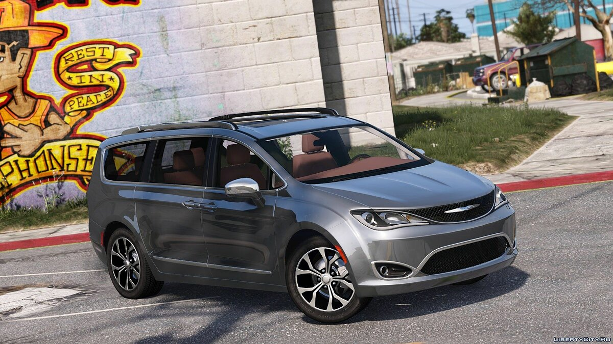 Машина Chrysler 2017 Chrysler Pacifica Limited 2.0 (Replace) 1.2 для GTA 5