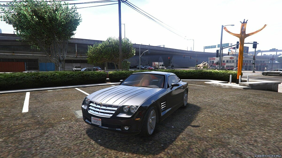 Chrysler Crossfire 2007 [Add-On / Replace] для GTA 5