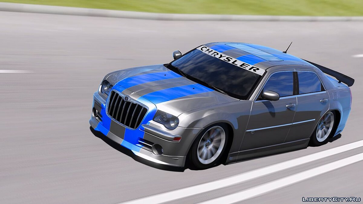 Машина Chrysler 2008 Chrysler 300c SRT8 [ Tuning / Livery / Add-on / DUB / Template ] version 1.0 для GTA 5