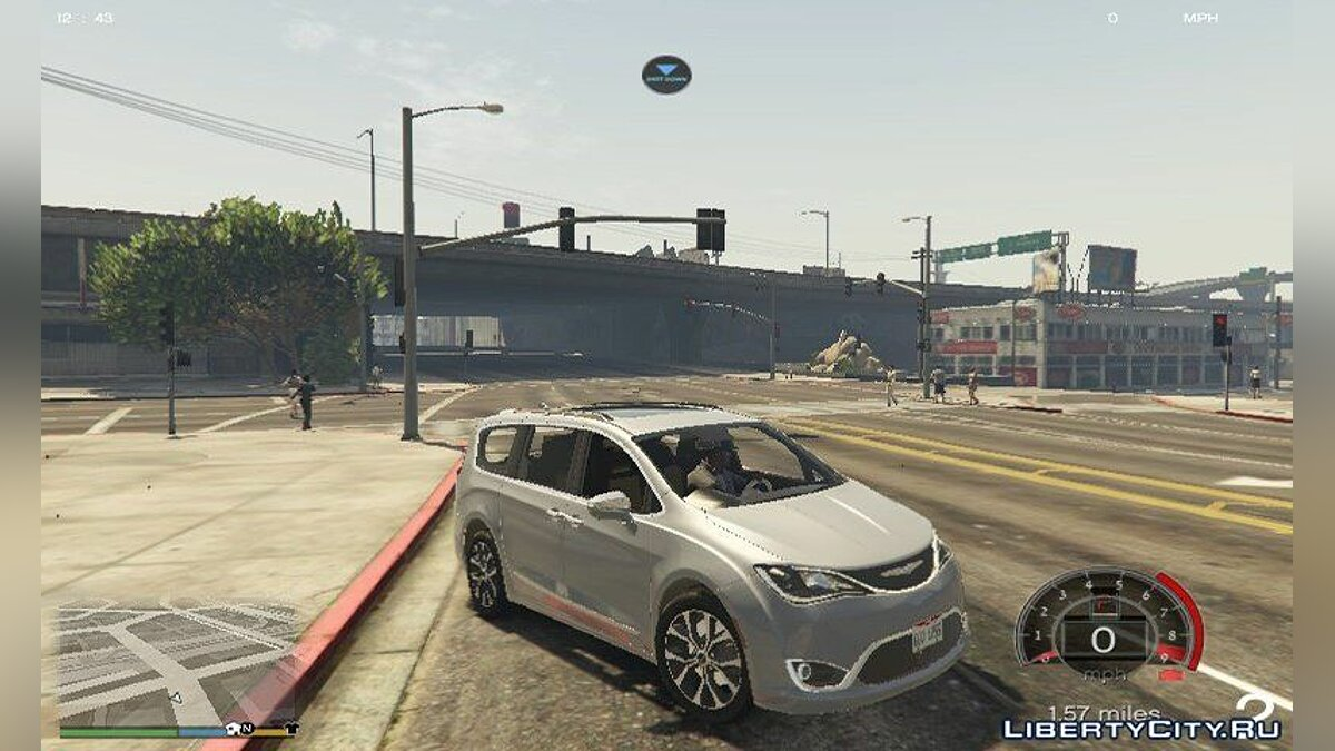 Машина Chrysler 2017 Chrysler Pacifica Limited 1.1 для GTA 5