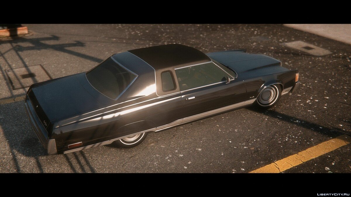 Машина Chrysler Chrysler New Yorker Brougham 1975 для GTA 5