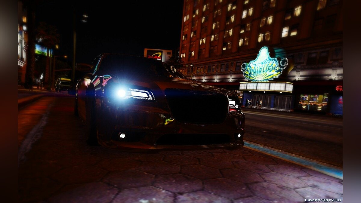 [Slight-Stanced] Chrysler 300 SRT8 [HQ | Add-On / Replace] 1.1 для GTA 5 - скриншот #4
