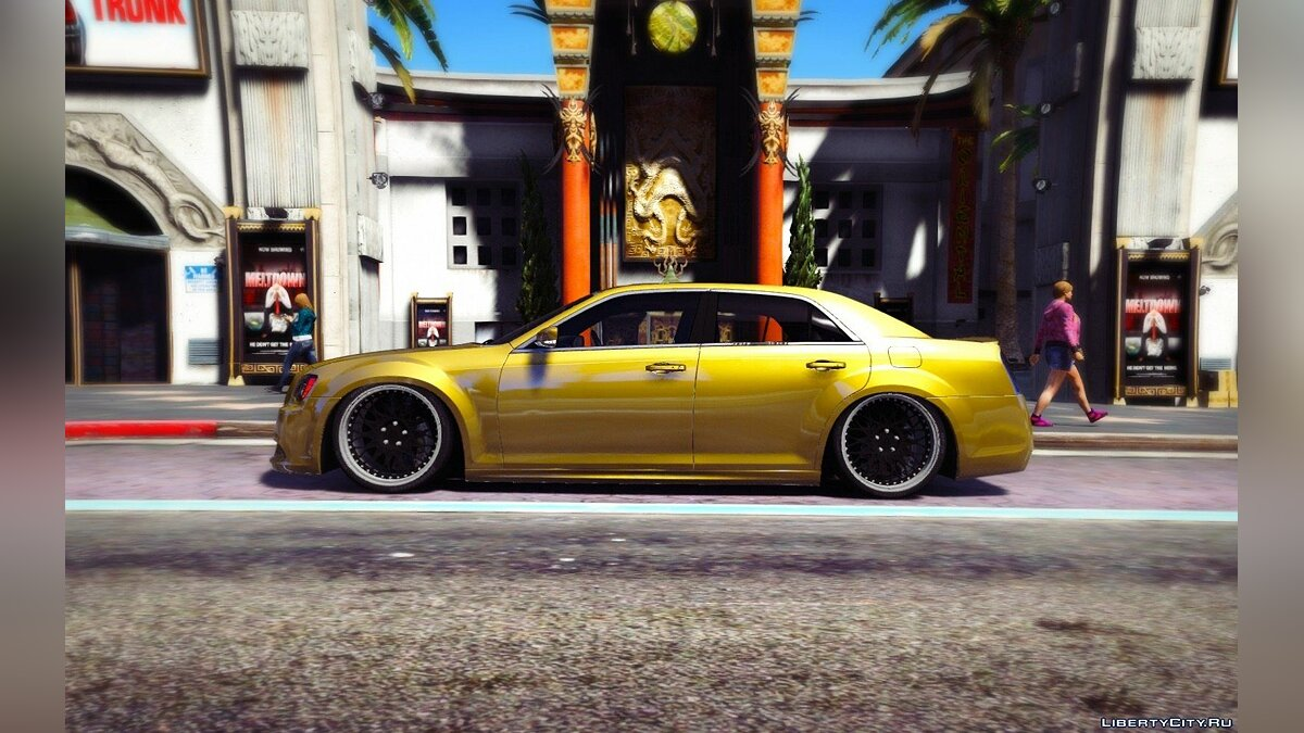 [Slight-Stanced] Chrysler 300 SRT8 [HQ | Add-On / Replace] 1.0 для GTA 5 - скриншот #5