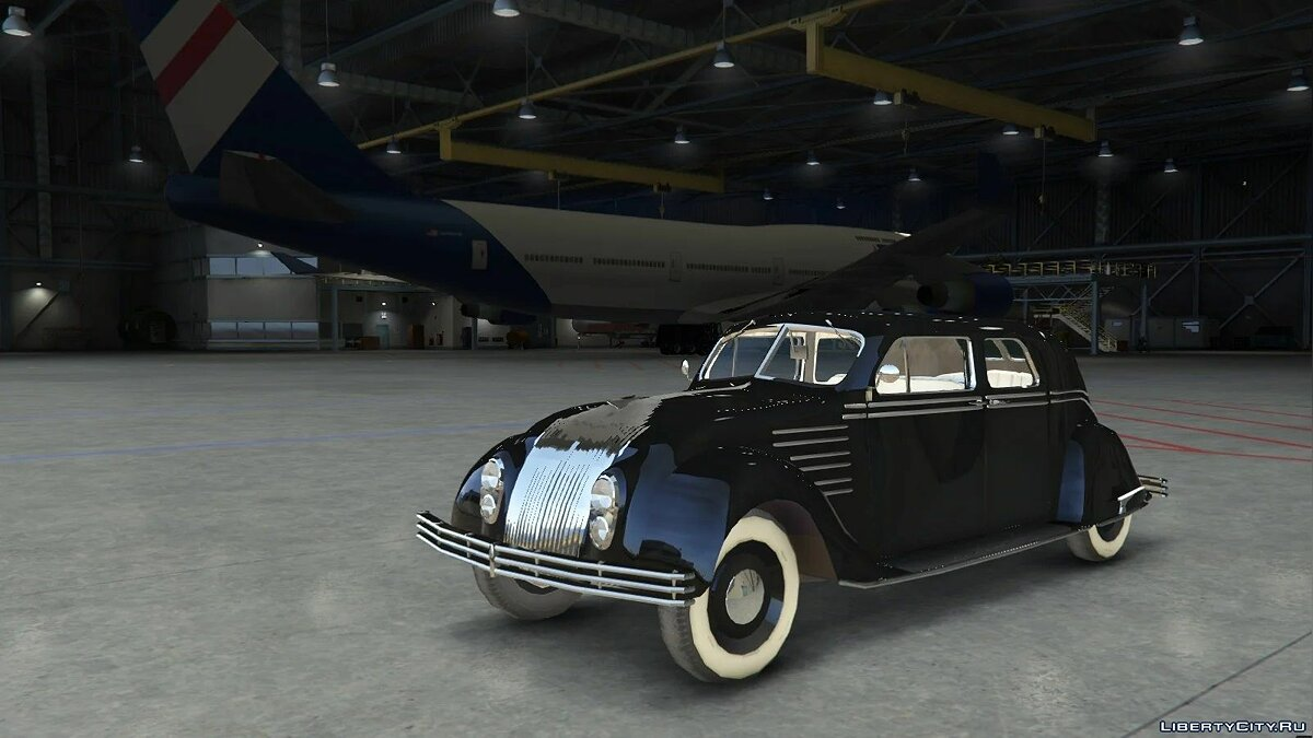 Машина Chrysler 1934 Chrysler Airflow [Add-On / Replace | LODs] 1.05 для GTA 5